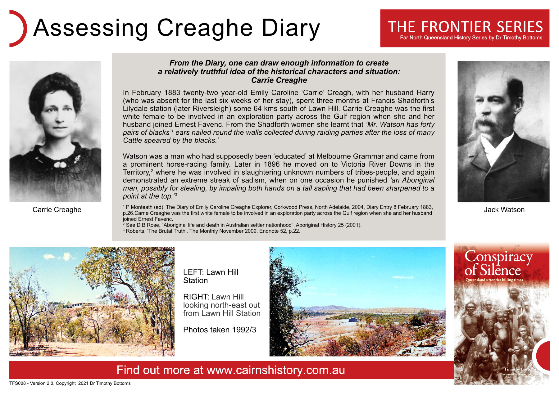 The Frontier Series Assessing Creaghe Diary