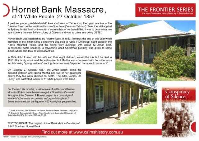 The Frontier Series Hornet Bank Massacre