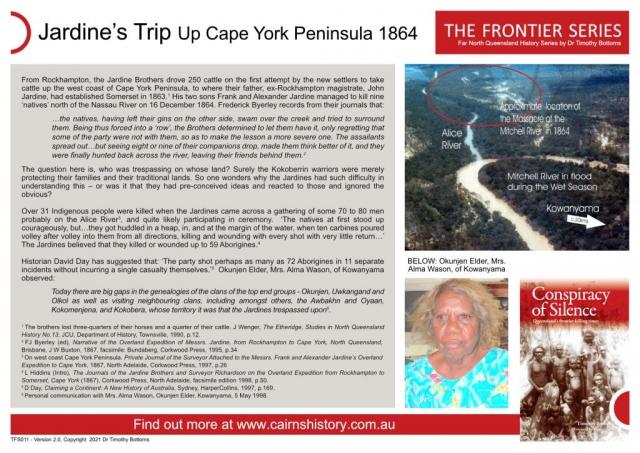 The Frontier Series Jardine's Trip Up Cape York Peninsula 1864