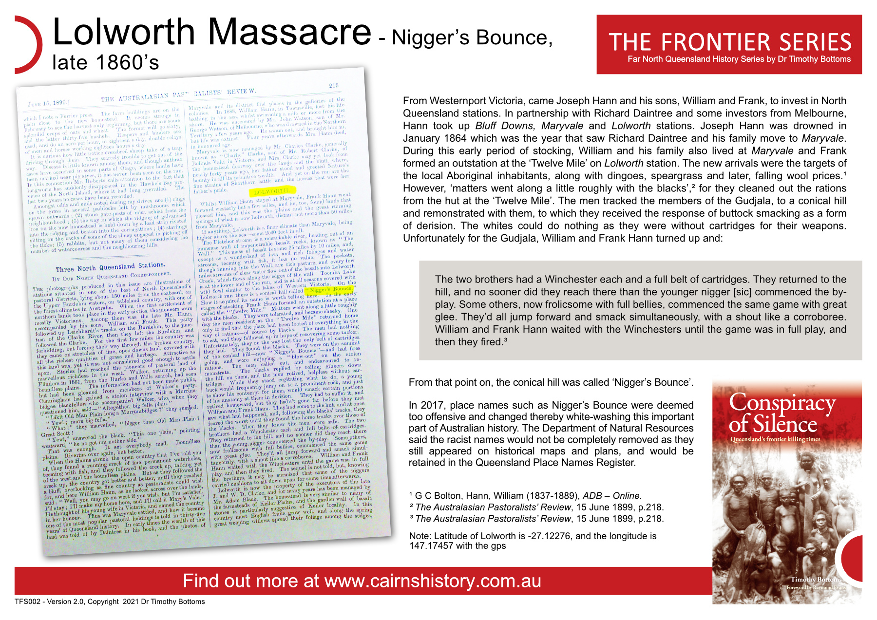The Frontier Series Lolworth Massacre