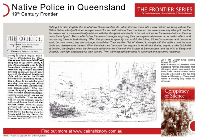 The Frontier Series Native Police in Queensland 19th Century Frontier