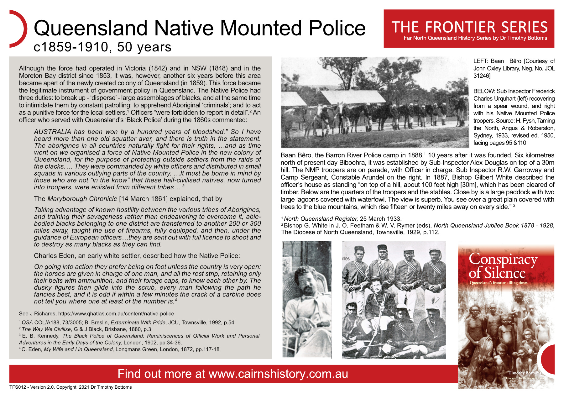 The Frontier Series Queensland Native Mounted Police