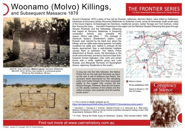 The Frontier Series Woonamo Molvo Killings