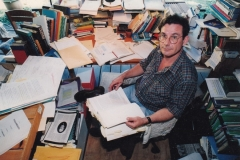 Tim at work on Cairns History c.2000