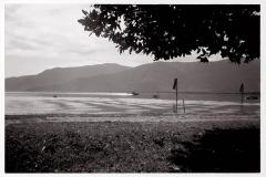 Martin Mariner landing on Trinity inlet, 1942